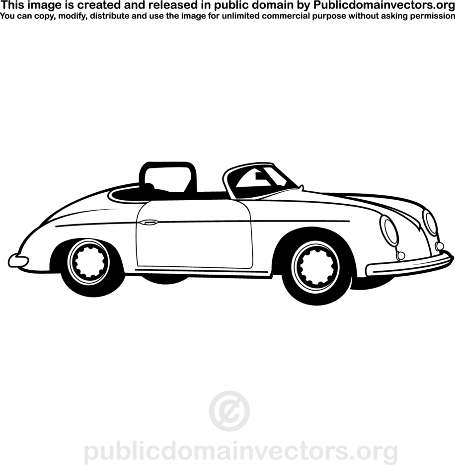 Vintage Vehicle Vector