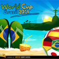 Free Vector Soccer Ball World Cup