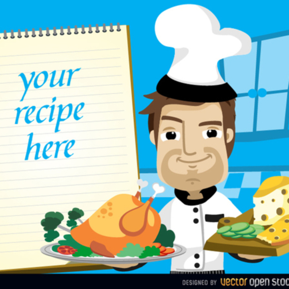 Chef Vector Cartoon