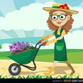 Free Vector Gardener
