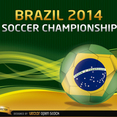 Free Vector Soccer Ball World Cup Background