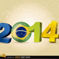 2014 Soccer World Cup Vector