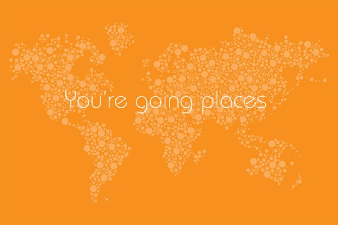 You're Going Places Map