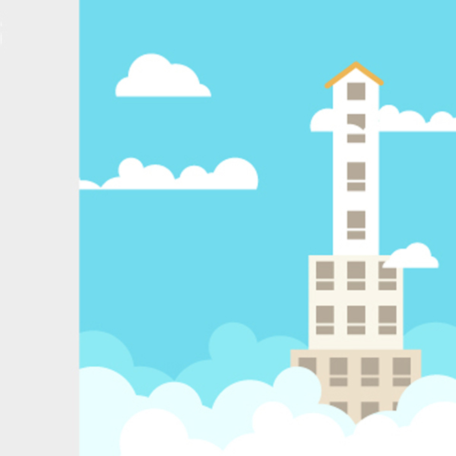 Free Vector Skyscraper Illustration