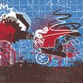 Free Vector Graffiti Snowboarder