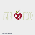 Eco Food Logo Vector