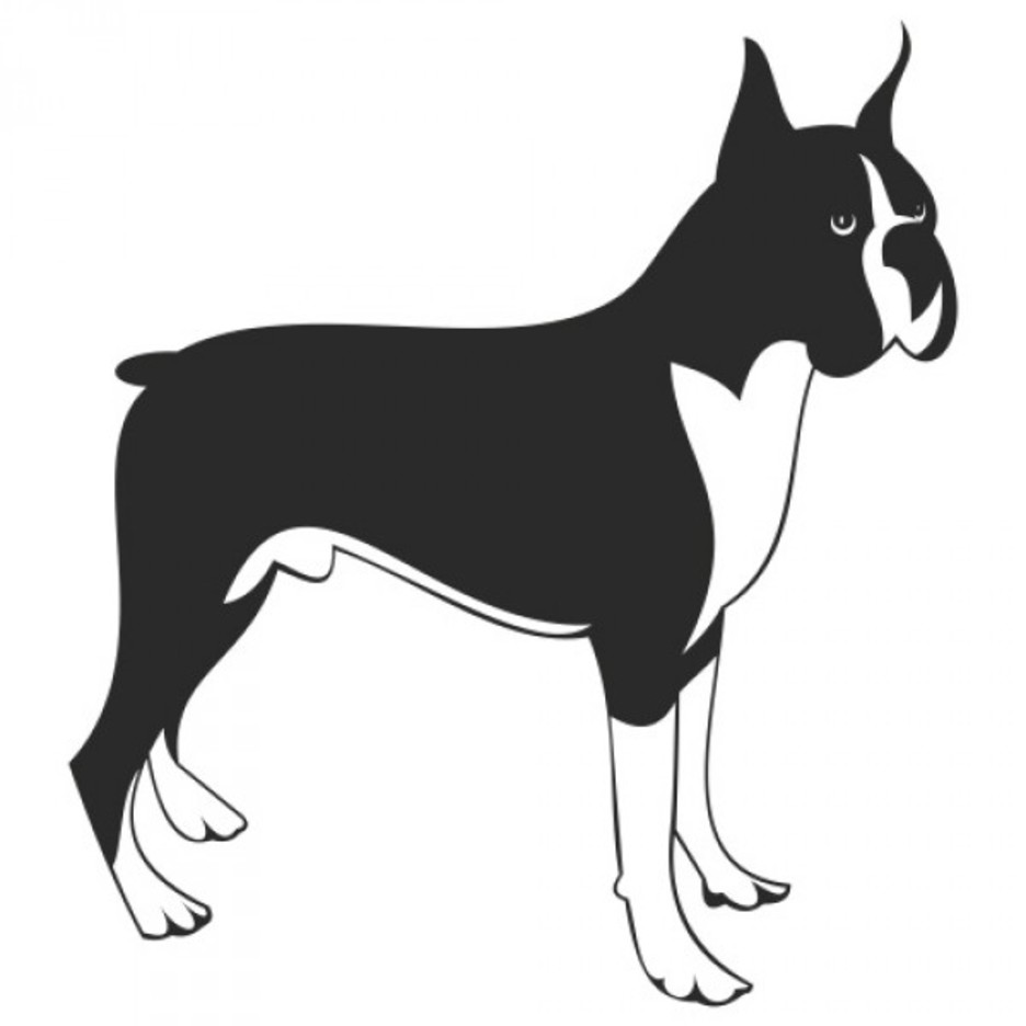 Free Boxer Dog Vector