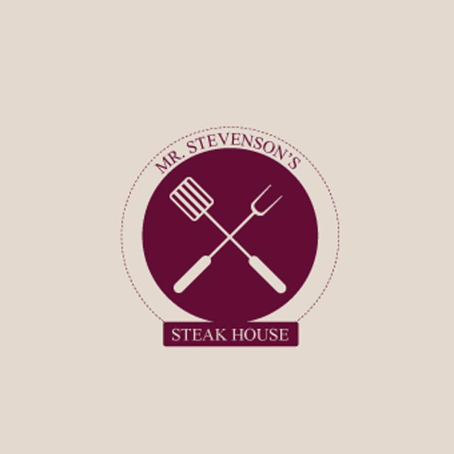 Free Vector Steakhouse logo