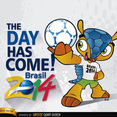 Brazil 2014 Begins with mascot Fuleco