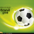 Free Vector Soccer World Cup 2014 Background