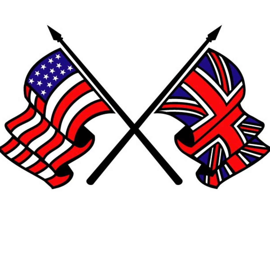 Free Vector Flags - USA and Britain