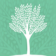 Vector Eco-Friendly Tree Silhouette