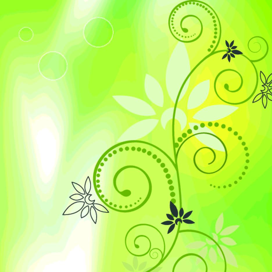 Bokeh Swirl Vector