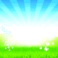 Free Vector Nature Sunburst Background