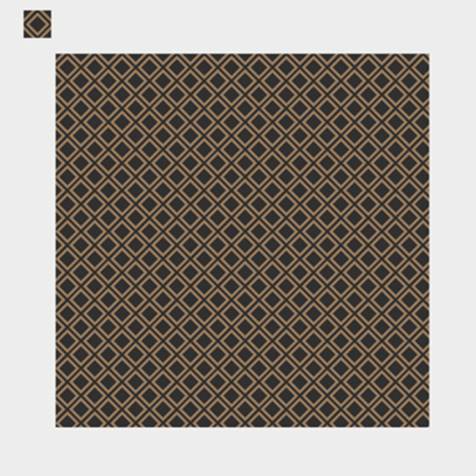 Awesome Brown Decorative Pattern Vector