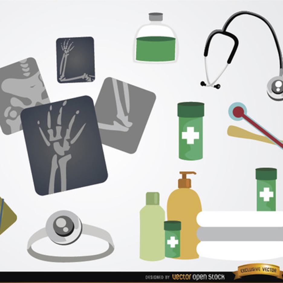 Medical Icon Vector element set