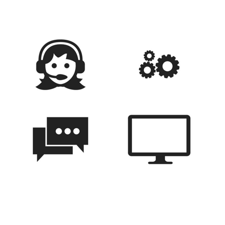 Work and Office Vector Icons