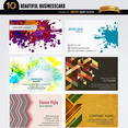10 Artistic Abstract Business Card Tempates