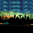 Abstract World Monuments Background