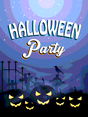 Halloween Vector Party Flayer