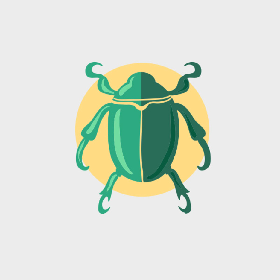 Free Vector Green Beetle