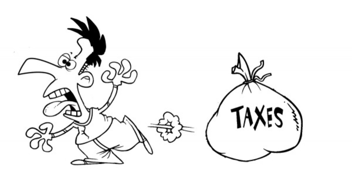 Taxes Are Scary