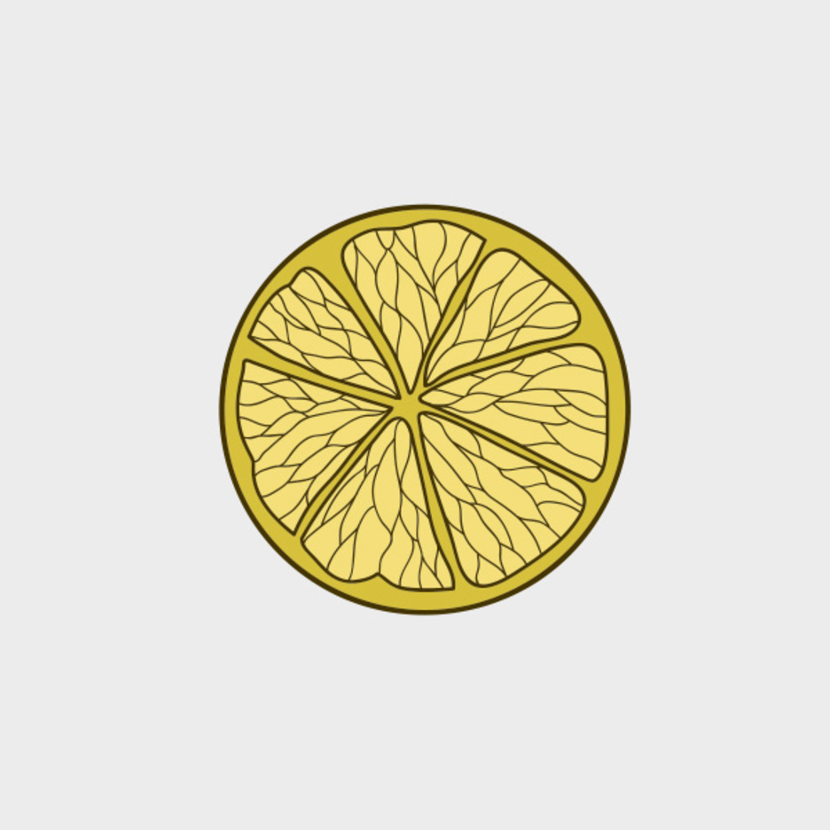 Free Vector Lemon Slice