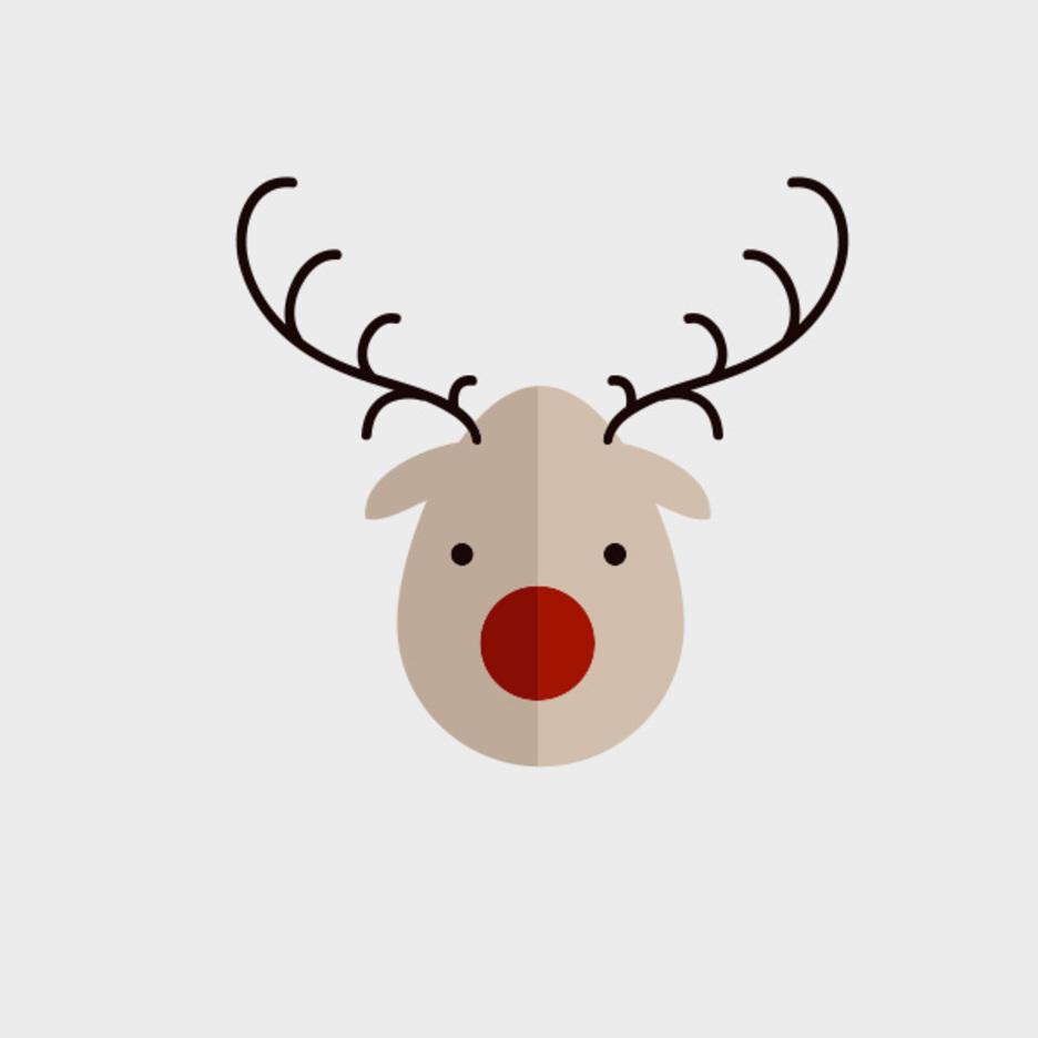 Cute Vector Reindeer