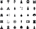 30 Christmas Vector Icons