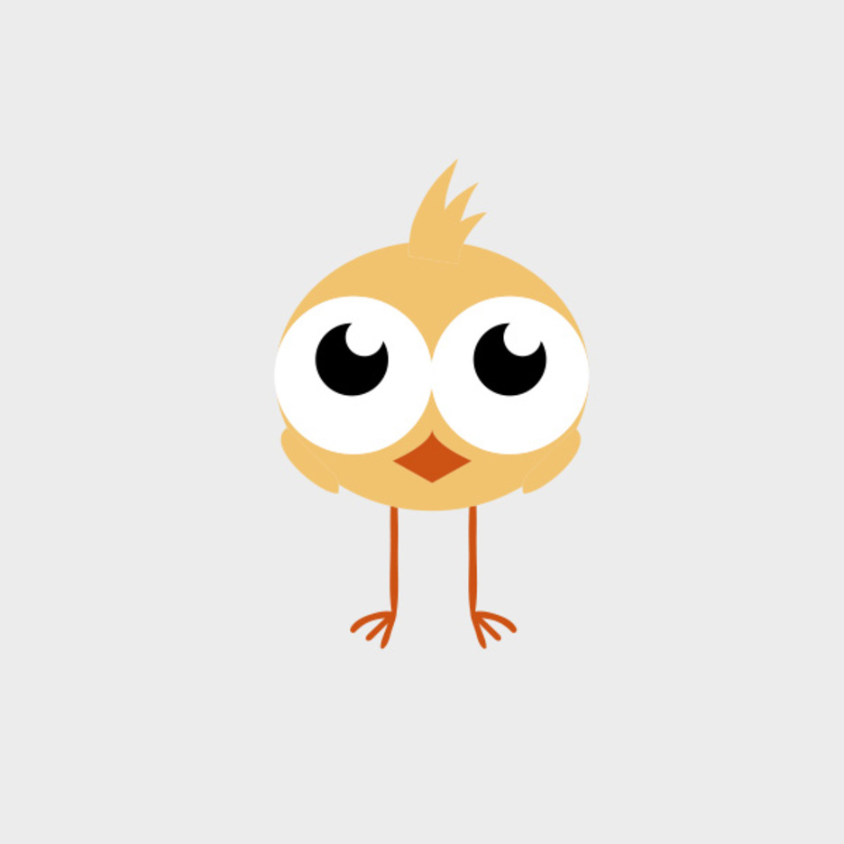 Cute Vector Chick