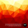 Polygonal Yellow Geometric Backgrounds