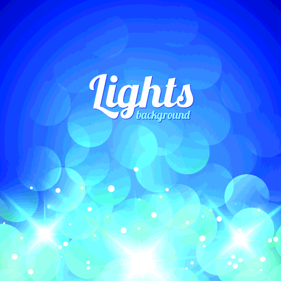 Free Vector Bokeh Light Background