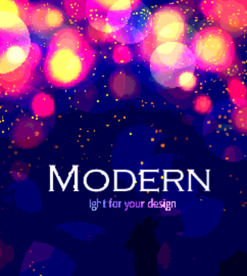 FREE MODERN COLORFUL BOKEH BACKGROUND VECTOR