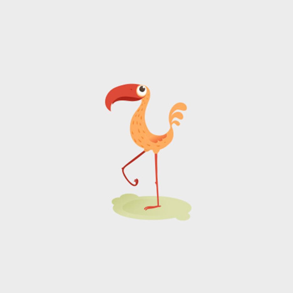 Free Funny Vector Bird