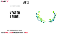 Free Vector Laurel Ornament