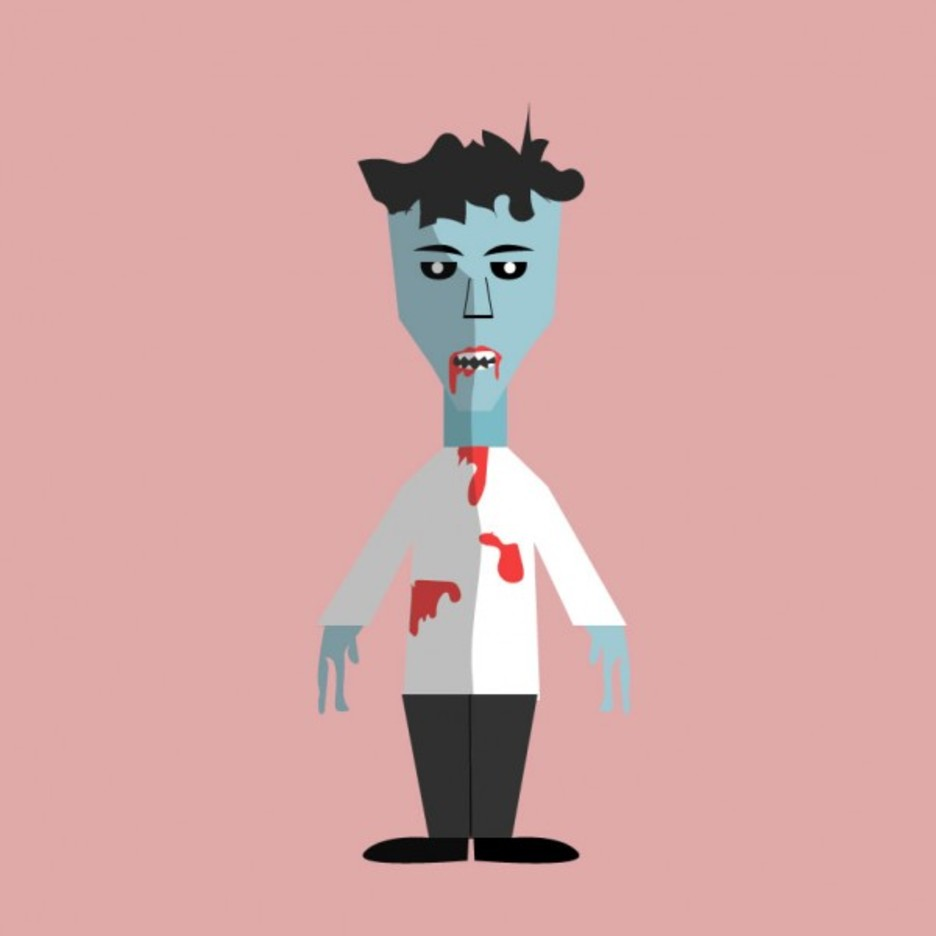 Free Vector Halloween Zombie