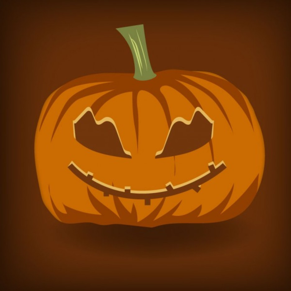 Free Vector Halloween Pumpkin