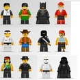 Free Vector Lego Character Illustrations