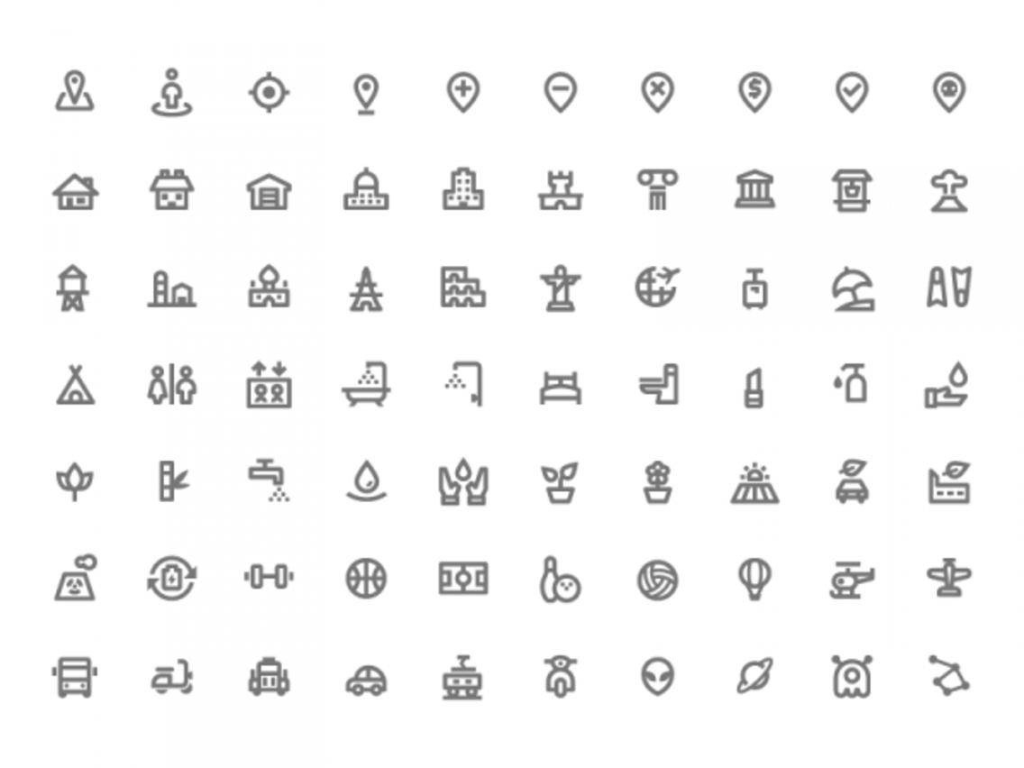 """""""Nova"""", 350 Free Design Material Icons"""
