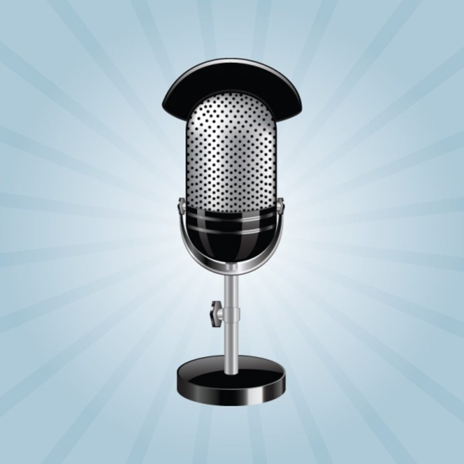 Free Photo Realistic Studio Microphone Vector