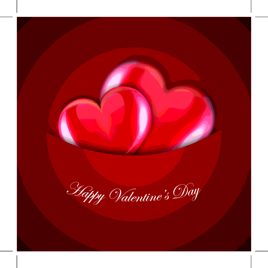 Free Heart Valentine's Day Vector Design