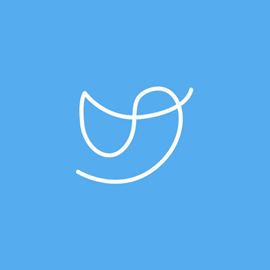 Free One Line Social Networks Icon Vector