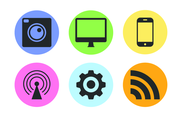 Free Technology Vector Icon Pack