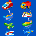 Free Transport Vector Icons Pack