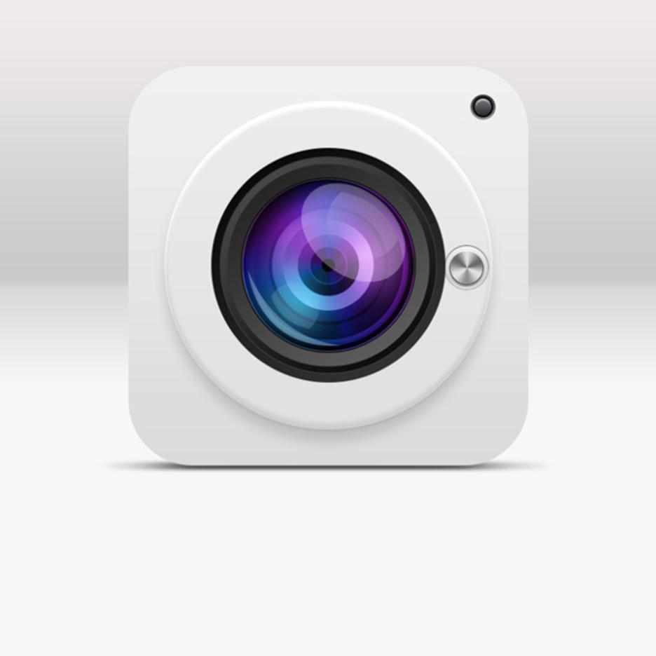 Free 3D Realistic Vector Camera Lens