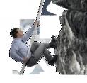 Man Climbing Vector
