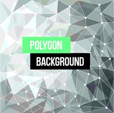 Polygon Line Background