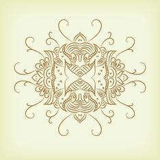 Abstract swirls design