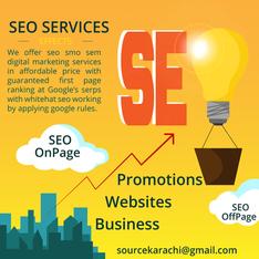 SEO Service In Karachi for business websites