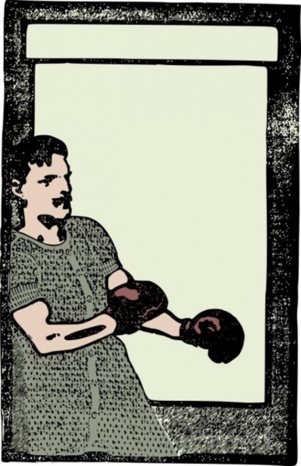 Boxing Man - Colour